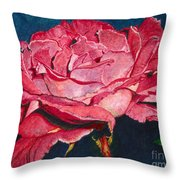 An American Beauty Throw Pillow