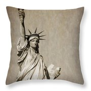 An American Icon Throw Pillow