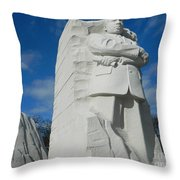An American Non Violence Civil Rights Icon Throw Pillow