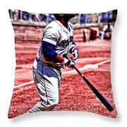 An American Sport Throw Pillow