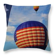 An American Tradition Throw Pillow