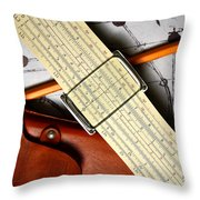 An Analytical Anomaly Throw Pillow