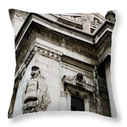An Angel In Rome Throw Pillow