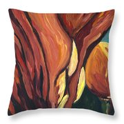 An Ant's View Throw Pillow