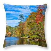 An Appalachian Shangri La Throw Pillow
