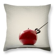 An Apple Throw Pillow