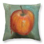 An Apple Throw Pillow
