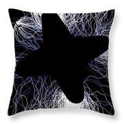 An Arcing Star Throw Pillow
