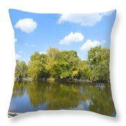 An Autumn Day Throw Pillow