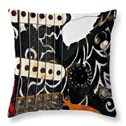 An Axe To Grind  Throw Pillow