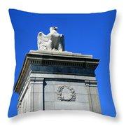 An Eagle To Arlington Throw Pillow