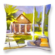 An Early Summers Morning Throw Pillow