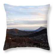 An Elk Knob View Throw Pillow