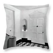 An Entrance Hall Throw Pillow