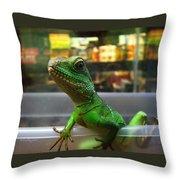 An Escape Artist Throw Pillow