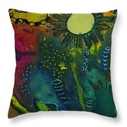 An Evening In Spring Throw Pillow