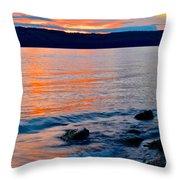 An Evening To Remember Throw Pillow