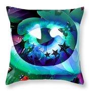 An Eye For Nature Throw Pillow