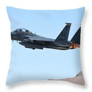 An F-15e Strike Eagle Taking Throw Pillow