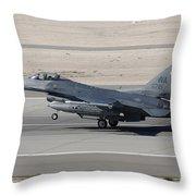 An F-16c Fighting Falcon Taking Throw Pillow