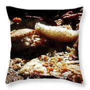 An Honest Crust Throw Pillow