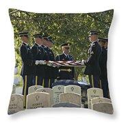An Honored Dead Throw Pillow