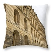 An Imposing View Of The Palace Throw Pillow