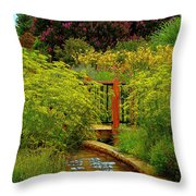 An Impressionists View Throw Pillow