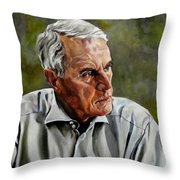 An Interesting Man - Viktor Hesse Throw Pillow