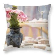An Invitation To Indulge Throw Pillow