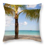 An Island View Throw Pillow