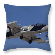 An L-39za Albatros Used As A Threat Throw Pillow
