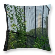 An Obstructed View Of Washington Throw Pillow
