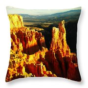 An October View Throw Pillow
