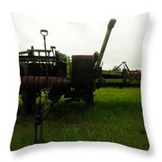 An Old Bailor Throw Pillow