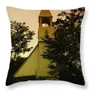 An Old Church Near Moxee Wa Throw Pillow
