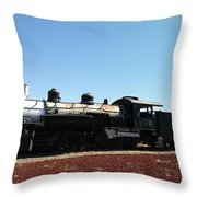 An Old Engine Throw Pillow