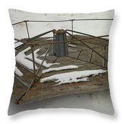An Old Marry Go Round Throw Pillow