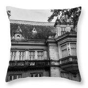 An Old Polish Tenement Throw Pillow