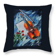 An Old Song 2 Throw Pillow