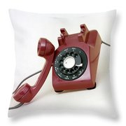 An Old Telephone Throw Pillow