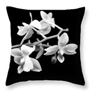 An Orchid  Throw Pillow by Tommytechno Sweden
