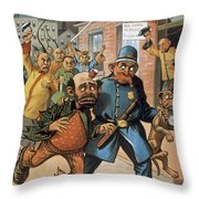 An Uprising In China Throw Pillow