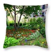 An Urban Oasis Throw Pillow
