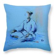 Ana Shiro Throw Pillow