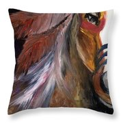 Anaba Throw Pillow by Whitney Nanamkin