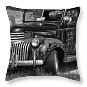 Anaconda Vintage Truck Throw Pillow