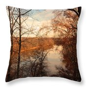 Anacostia River 6457 Throw Pillow