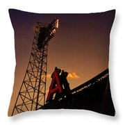 Anaheim Angels Sunset  Throw Pillow