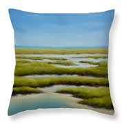 Anahuac Afternoon Throw Pillow